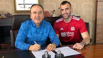 Son dakika transfer haberleri | Demir Grup Sivasspor, Petar Skuletic'i transfer etti
