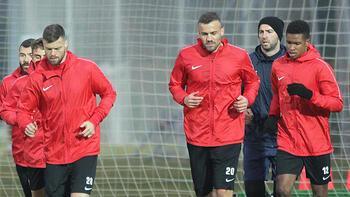 Lider Sivasspor kupa maçına hazırlanıyor