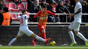Hes Kablo Kayserispor - Fraport TAV Antalyaspor: 2-2