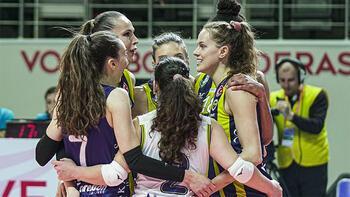 Fenerbahçe Opet: 3 - Galatasaray HDI Sigorta: 0