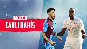 Trabzonspor – Sivasspor maçı canlı bahisle Misli.com'da