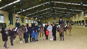 Bahçeşehir Koleji Kış Ligi At Terbiyesi yarışmaları ilk ayak müsabakaları bu hafta sonu tamamlandı