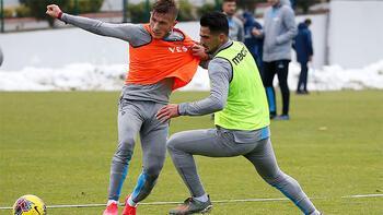 Trabzonspor derbi hazırlıklarına ara vermedi