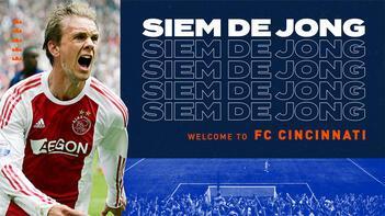Cincinnati, Ajax'tan ayrılan Siem de Jong'u transfer etti