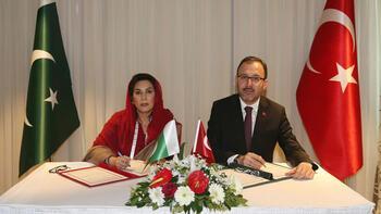 Gençlik ve Spor Bakanlığı, Pakistan ve Özbekistan ile iş birliği protokolü imzaladı