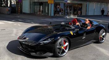 Ferrari tutkusu Ibrahımovic'in başına bela oldu! Ceza kapıda...