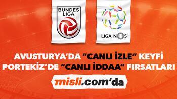 Avusturya ve Portekiz Ligi iddaa heyecanı Misli.com'da
