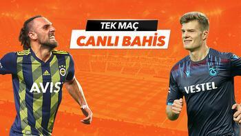 Fenerbahçe - Trabzonspor maçı Tek Maç ve Canlı Bahis seçenekleriyle Misli.com'da