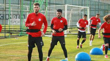 Çaykur Rizespor, Fraport TAV Antalyaspor maçı hazırlıklarını sürdürdü