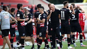 Son dakika | Kaan Ayhan ve Kenan Karaman'ın takımı Düsseldorf küme düştü!