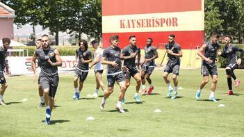 Kayserispor, Beşiktaş maçı hazırlıklarına başladı