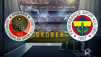 Gençlerbirliği Fenerbahçe maçında ilk 11'ler belli oldu! Gençlerbirliği - Fenerbahçe maçı hangi kanalda?