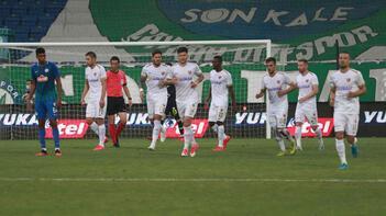 Kayserispor'un galibiyet serisi bozuldu
