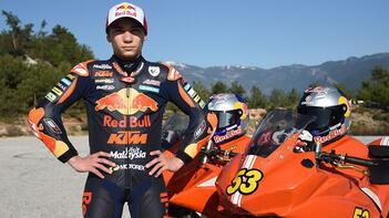 Milli motosikletçi Deniz Öncü, İspanyadaki yarışı tamamlayamadı