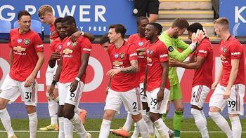 Manchester United'da Şampiyonlar Ligi sevinci!