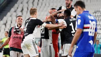 Son dakika | İtalya'da üst üste 9. kez Juventus şampiyon oldu!