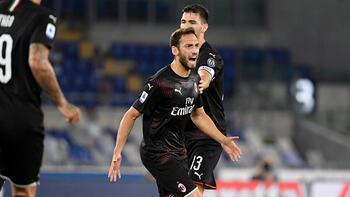 Milan'da Hakan Çalhanoğlu yine gol attı! 12 yıl sonra ilk...