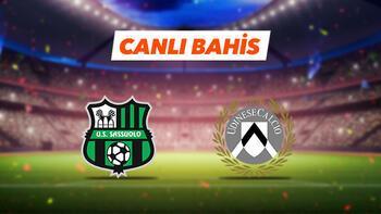 Sassuolo - Udinese maçıTek Maç ve Canlı Bahis seçenekleriyle Misli.com'da