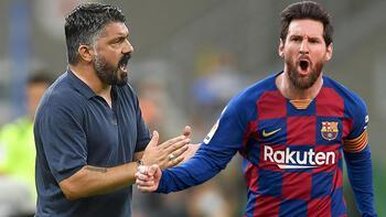 Napolide Gennaro Gattusodan Messi itirafı