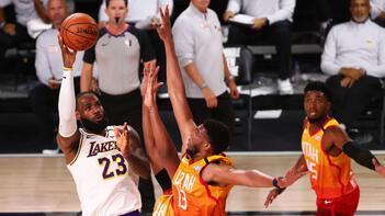 NBA'de Lakers, Jazz'ı yenerek Batı Konferansı liderliğini garantiledi