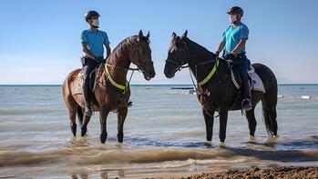 Van Gölü kıyıları atlı birliklere emanet