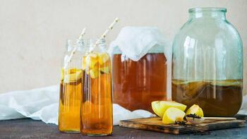Ölümsüzlük iksiri kombucha çayı 15 gün bekletilerek hazırlanıyor