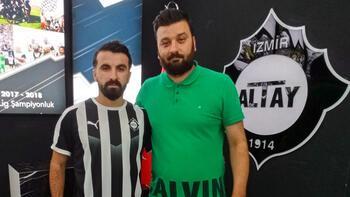 Altay, Erhan Çelenk'i transfer etti