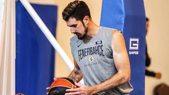 Fenerbahçe Beko salonda çalıştı