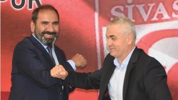 Sivasspor, Rıza Çalımbay ile sözleşme yeniledi! Başkan transferi açıkladı...