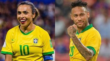 Brezilya'da kadın ve erkek futbol oyuncuları bundan sonra eşit ücret alacak