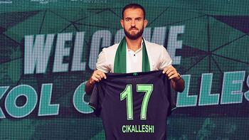 Transfer haberleri   Sokol Cikalleshi resmen Konyaspor'da!