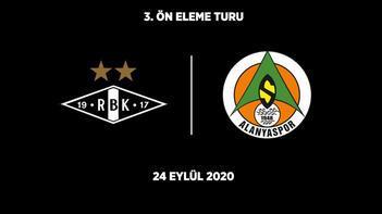 Son dakika - Alanyaspor'un Avrupa Ligi'ndeki rakibi Rosenborg oldu