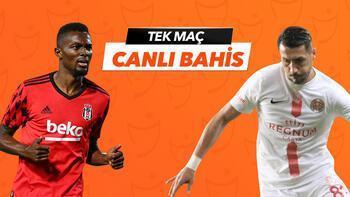 Beşiktaş - Antalyaspor karşılaşmasında Canlı Bahis heyecanı Misli.com'da!
