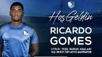 Erzurumspor golcü  Ricardo Gomes'i transfer etti!