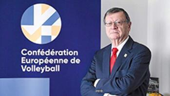 CEV başkanlığına Boricic seçildi