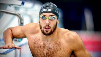 Olimpik yüzücü Emre Sakçı'dan Avrupa rekoru