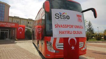 Sivasspor'a yeni otobüsü teslim edildi