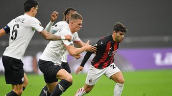 Son dakika | Yusuf Yazıcı, UEFA Avrupa Ligi'nde tarih yazdı! Milan karşısında....