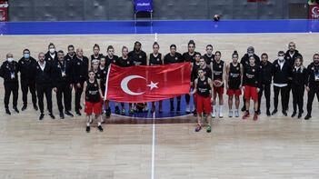 A Milli Kadın Basketbol Takımı, Sırbistan hazırlıklarını sürdürdü