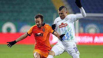Çaykur Rizespor - Galatasaray maçından görüntüler