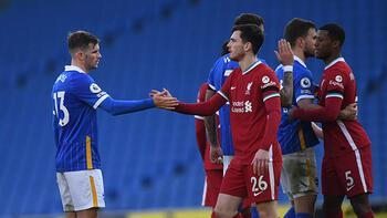 Liverpool galibiyeti 90+3'te kaçırdı