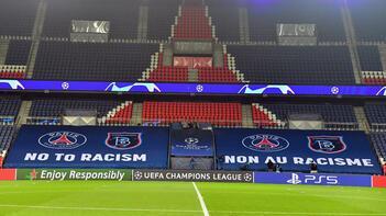 Son dakika - Başakşehir maçı öncesi Pariste tarihi anlar Herkes diz çöktü ve...