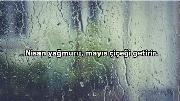 Yağmur Sözleri: Yağmur Damlası Ve Yağmur Bereketi İle İlgili Güzel Sözler