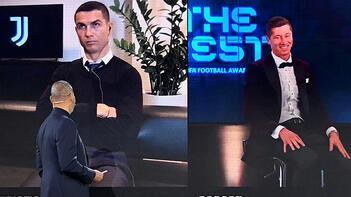 Son dakika haberleri: FIFA'nın 'Yılın Futbolcusu Ödülü' gecesinde şoke eden anlar! Cristiano Ronaldo...