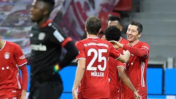 Bayern Münih'te Lewandowski attı, liderlik geldi!