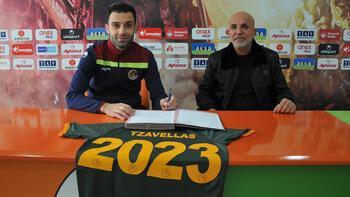 Son dakika | Alanyaspor, Tzavellas ile sözleşme uzattı