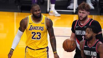NBA'de Lakers bu sezon ikinci kez kaybetti