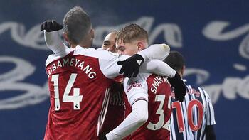 Arsenal, deplasmanda West Bromwich'i farklı geçti