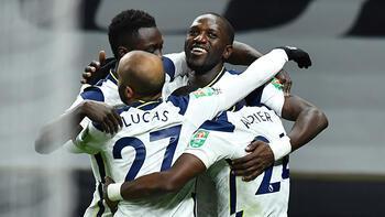 İngiltere Lig Kupası'nda ilk finalist Tottenham