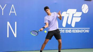 Antalya Open'da elemelerin ilk günü tamamlandı